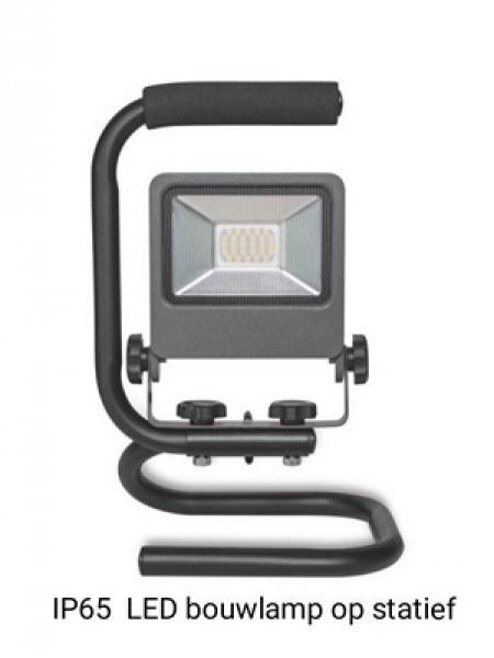 LED bouwlamp IP65 (+€6.00)